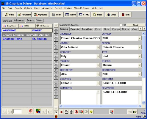 wine database inventory software  sc 1 th 202 & Solution Software: wine software solution: free wine inventory ...