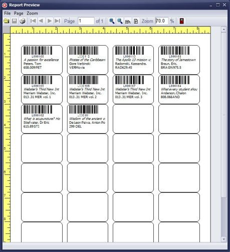 handy library manager  tutorial  print labels  review